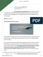 Focus Summary - Four Minute Books