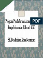 Program Pendaftaran Asrama, Tahun Pengukuhan dan Tahun.pptx