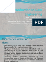 Introduction to Dam Engineering