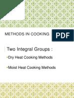 METHODS IN COOKING