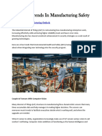 Top Five Trends in Manufacturing Safety