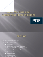 State Machine and Concurrent Process Model
