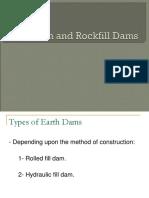 Earth & Rockfill Dams