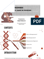 Introduction to Metagenomics