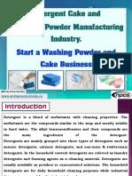 Detergent Cake and Detergent Powder Manufacturing Industry-121688-.pdf