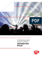 Full document PRS dist policy