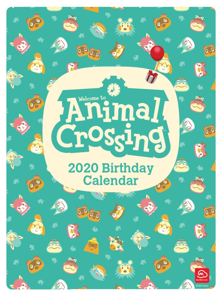 Animal Crossing Kappn Gay Porn animalcrossing_characterbirthday_2020