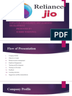 jio internship ppt