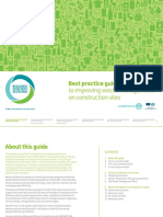 Improving waste management on construction site – best practice guide