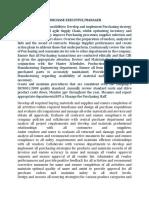Duties & Responsibilities of Various Posts