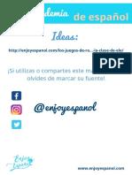Role play- La academia de español