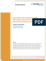 Data Protection Strategies Using Replication