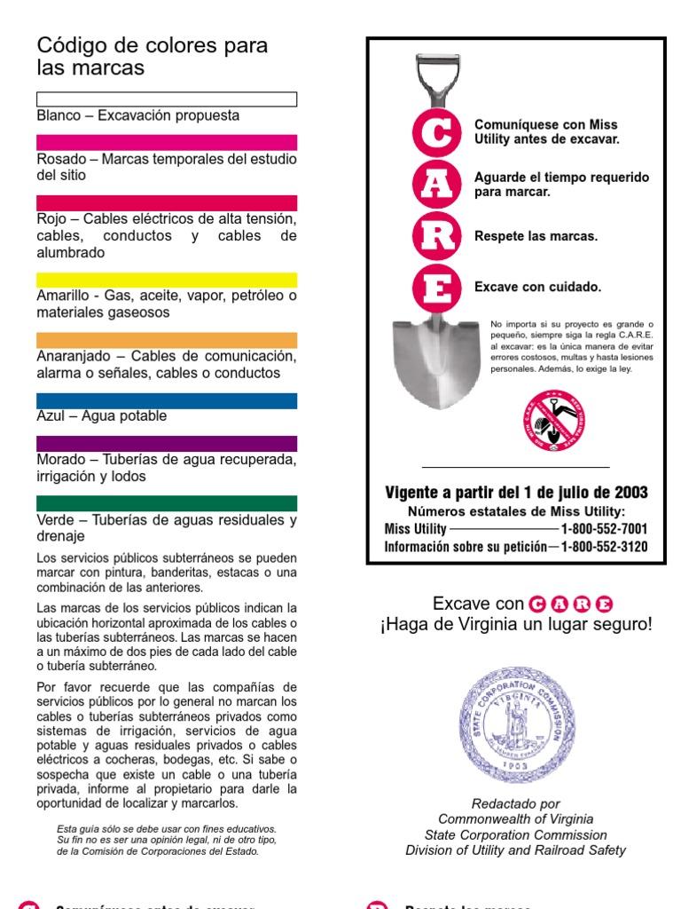 Codigo de colores para tuberias - Tuberia para instalacion electrica ...