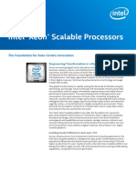Intel 2nd Gen Xeon Scalable Processors Brief