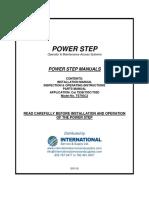 ISS PS Cat 793C2 Manuals 50110 (model TS793C2)