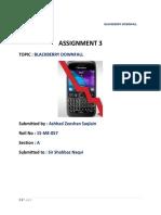 BlackBerry DownFall