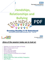 Friendships and Bullying Powerpoint Primary