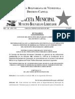 Gaceta Municipal Libertador 4443-B 31-05-19