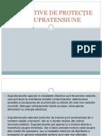 DISPOZITIVE DE PROTECȚIE LA SUPRATENSIUNE.pptx