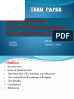 effect of shear box size on shear strength of soil