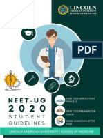 NEET 2020 Student Guide - Lincoln American University