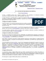 PIS E COFINS – SÍNTESE DOS REGIMES DE INCIDÊNCIA