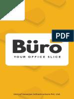 Buro - My office - Brochure
