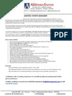 AhinavaEvents - EventsManager - JobDescription.pdf