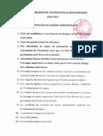 4-Constitution Du Dossier Administratif