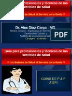 GUIAS Y PROTOCOLOS DE ATENCION EN PROMOCION DE LA SALUD