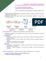 Farmacologie, Fazele evolutiei medicamentului in organism de la administrare pina la aparitia efectului terapeutic