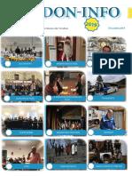 le journal PDF de Decembre de l'association Verdon info
