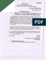 Continuation of ADIP Scheme