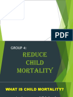 Reduce child mortality HEYEE