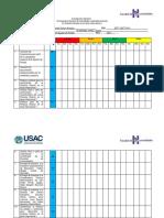 Cronograma General de la Practica Directa en el Aula Intercultural I
