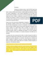 Editoriales disidentes en el conurbano