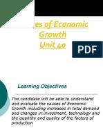 IGCSE Economics Economic Growth