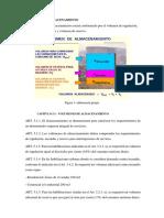 4  VOLUMEN DE ALMACENAMIENTO (1)