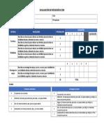 Evaluación de reflexión CCEM