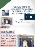 4. TECNOLOGIAS DE CLORACION FINAL