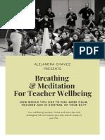 Breathing & Meditation for Teacher Well-being