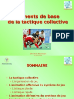 Eléments de base tactique collective