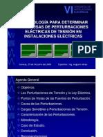 Power Quality - Perturbaciones (Presentación)