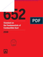 NFPA 652 2019 Fundamentals of Combustible Dust