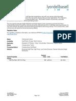 Technical Data Sheet - ISO