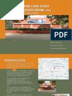 AUDITORIUM CASE STUDY KAMANI AUDITORIUM (NEW DELHI