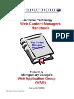 Web Content Managers Handbook