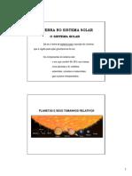 A Terra - Sistema Solar