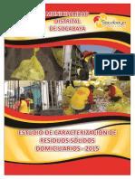 INFORME DEL ESTUDIO DE CARACTERIZACION