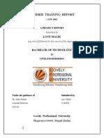summer-training-report-civil-engineering